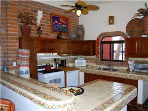 Every level of the house has a kitchen