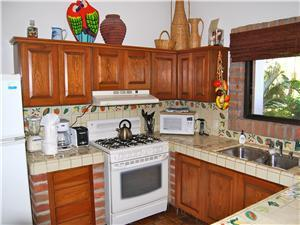The ground floor fully equipped kitchen