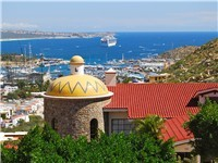 Incredible views of downtown Cabo San Lucas