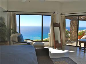 Ocean view from the bedrooms