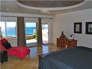 The second suite has ocean views