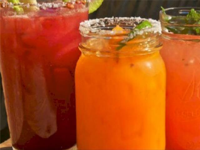 Flora Farms Bar has great drinks!