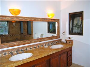 The second casita has a private bathroom
