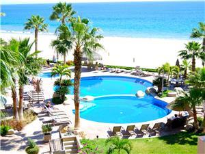 El Zalate beach front pools and Jacuzzi