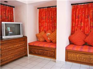 Guest suite with television
