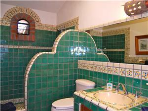 Guest bathroom on the second level