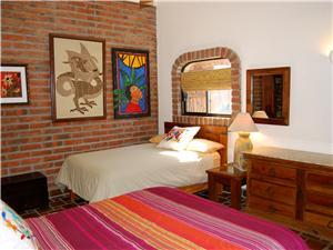 Hacienda style decor throughout the Villa