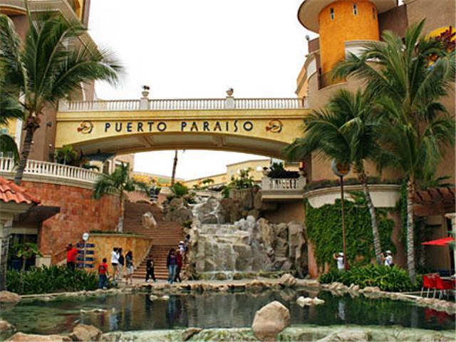Puerto Paraiso Shopping Mall in Cabo San Lucas Baja California Sur