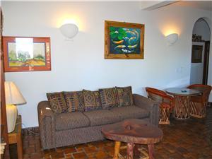 The ground floor living room