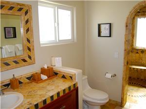 Second suite bathroom with shower