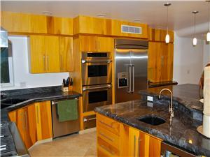 All stainless steele appliances