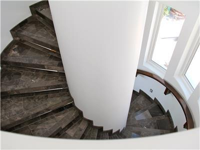 Stairs between floors