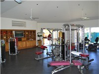 Las Mananitas has a fully equipped gym