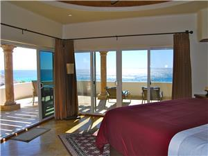 Great ocean views from the King bedroom
