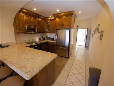 Large brand new kitchen and appliances