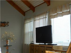 Large Flatscreen  TV in Living Area