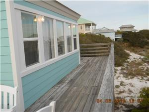 Walkway to other side of Deck