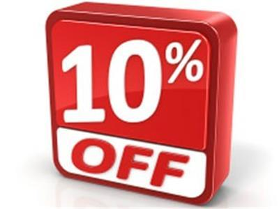 <p> 10% discount to all reservations made for dates starting 8/1 - 8/15 While Supplies Last</p> - 11166
