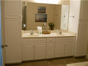 Large Master Bath with Double Vanities
