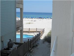 SIde view of Gulf/Beach