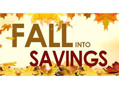 <p>The 2015 Fall into Savings Sale runs from October 13th until December 31 and rate and dates are subject to change without notice.</p> - 11486