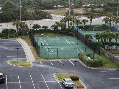 Tennis Courts and Basketball on site