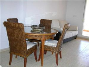 Lounge and Dining Area, 1106 Ribera Beach 2