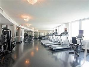 Gym with amazing Bay View