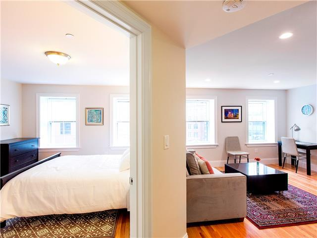 Living/Bedroom - South Boston Furnished Rental