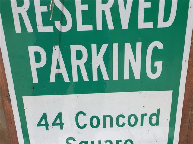 44 Concord Square Parking
