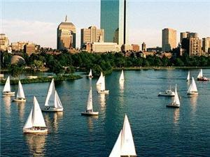 Charles River is 14 minute walk away