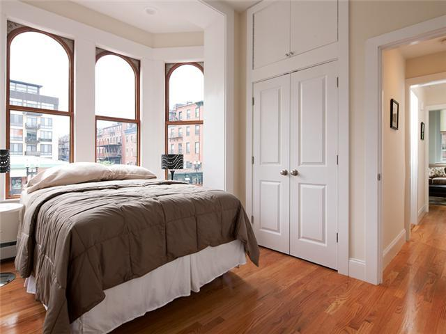 Bedroom - South End Rental, Boston