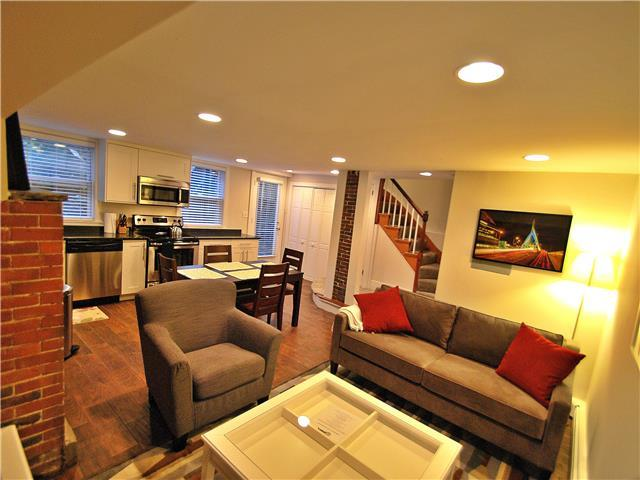 Living/Dining Area - Charlestown Apartment Rental