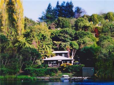 Lake House in Lake Tarawera