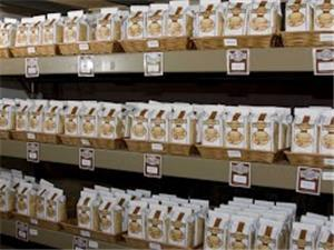 Many Varieties of Vt roasted coffees ready to go