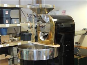 Our Coffee Roaster - come watch us roast!