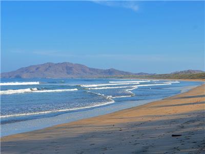 Uncrowded Playa Grande Beach