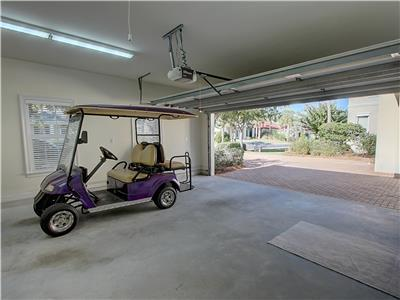 Golf Cart Included!