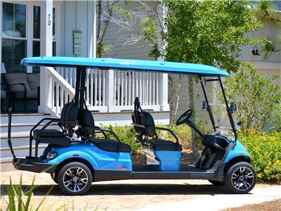 Features a Brand NEW 6 Seater Golf Cart!