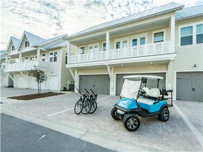 Golf Cart, Zero-Entry Pool, Beach, 3 Bikes - Mai Blue Pearl at Prominence 30A