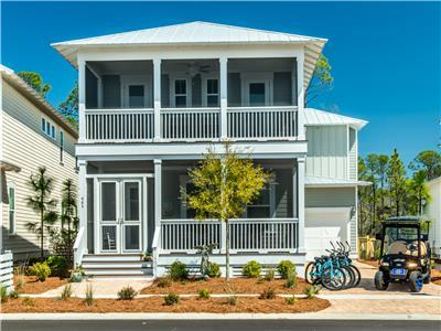 Enchanting at Seagrove Includes Golf Cart + Bikes