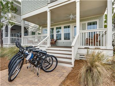 2020 Rates Reduced! 3 KINGS! 2 Pools*, 4 Bikes! Beach*! - Lily Pond by the Sea at NatureWalk 30A