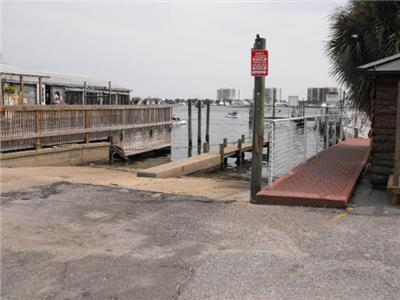 Destin Harbor Boat Ramp