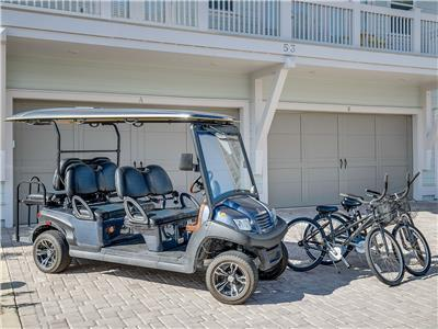6 Seater Golf Cart! Resort Style Pool! Beach! 3 Bikes -- Beach Life at Prominence 30A