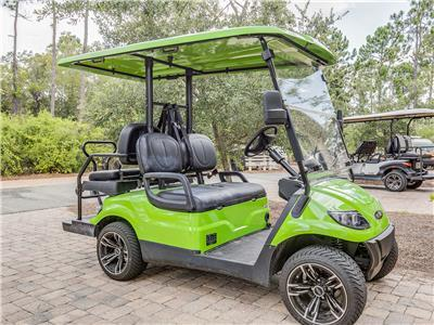 4-Seater Golf Cart Included with Every Reservation