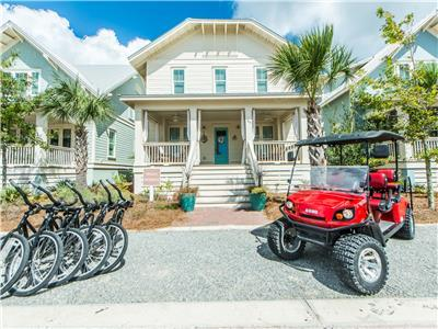 Bikes and Golf Cart at La SEA-esta!