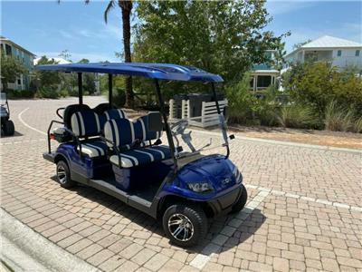 6-Seater Golf Cart Included!