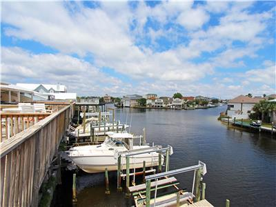 Harbor Front w/ Private Boat Slip, Walk to Beach, Large Balcony Overlooking Harbor ~ Harbor View at