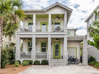 Two Story Beach Home in Seacrest