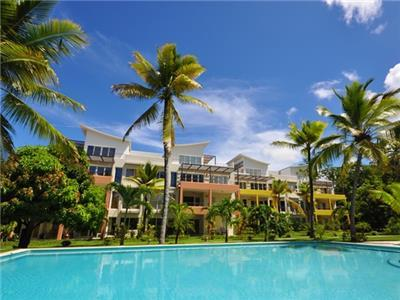 Pool View - Two Bedroom Condo in Beachfront Residence